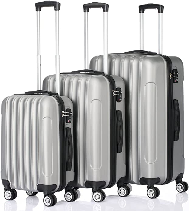 Amazon coupon code for 3-in-1 Traveling Storage Suitcase Luggage Case Set