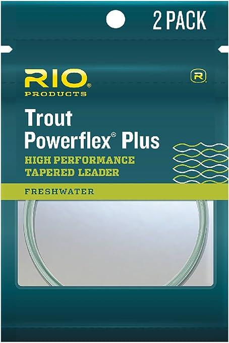 RIO Powerflex Plus Leader 3-Pack