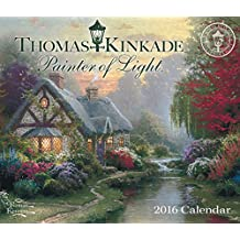 Thomas Kinkade Painter of Light 2016 Day-to-Day Calendar