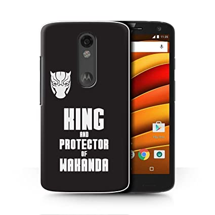 STUFF4 Phone Case / Cover for Motorola Droid Turbo 2 / King & Protector Design /