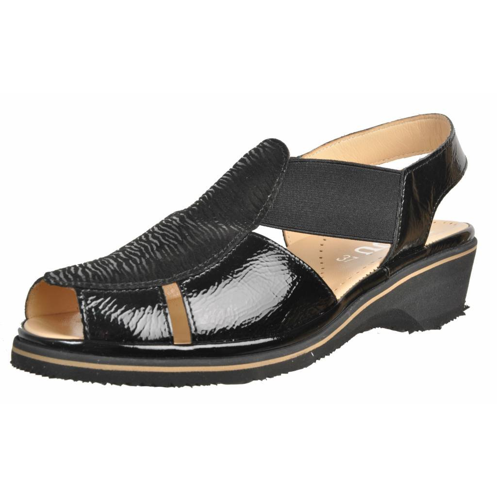 Zapatos de Cordones para Mujer, Color Negro, Marca PLAJU, Modelo Zapatos De Cordones para Mujer PLAJU Cris Negro 41 EU|Negro