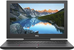 "Dell G5 Gaming Laptop 15.6"" Full HD 1920 x 1080 LED Display, 8th Gen 6 Core Intel i7-8750H Processor, 16GB Memory, 256GB SSD +1TB HDD, NVIDIA GeForce GTX 1050Ti, Licorice Black"