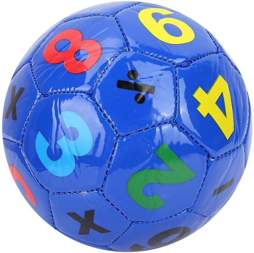 SOONHUA Pallone da Calcio in Plastica Bambini Sport allAria Aperta Pallone da Calcio Misura 2 Attrezzatura Sportiva per Sport Allaperto Scuola Compleanno Bancarelle di Beneficenza