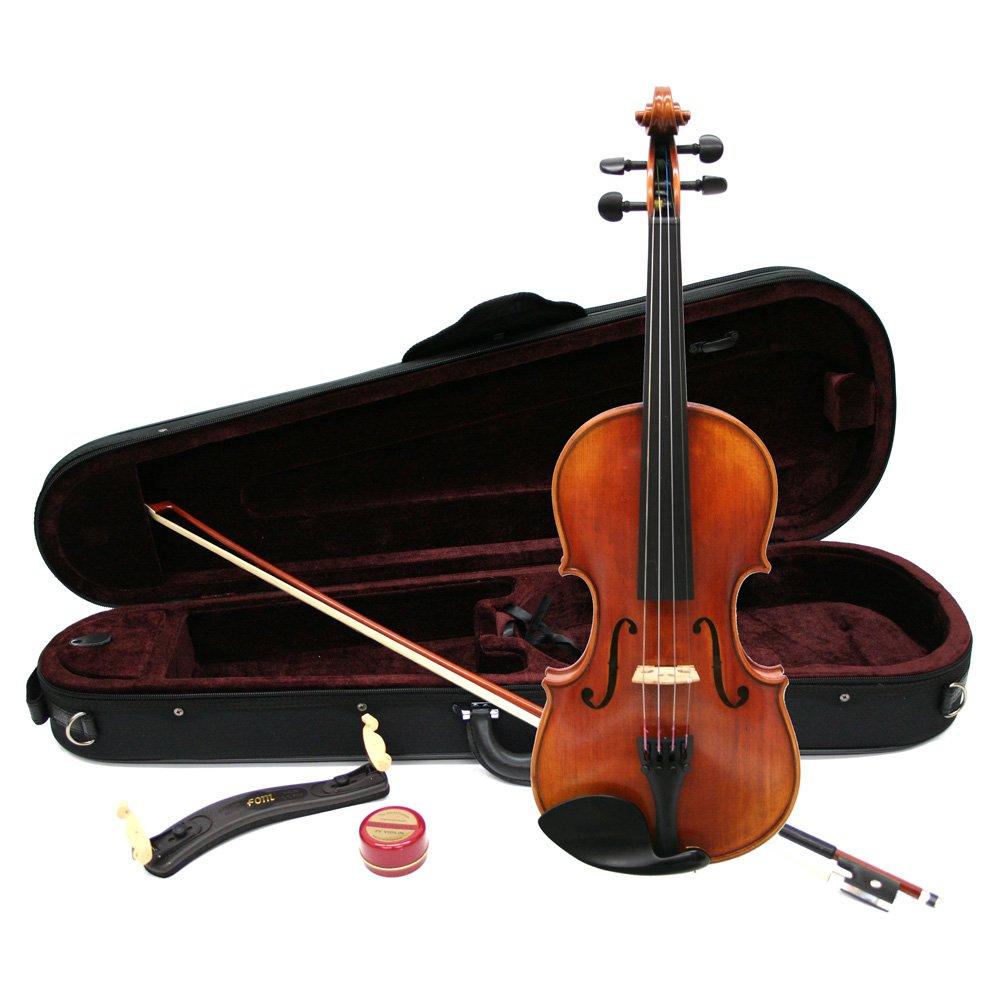 Nicolo Santi NSN60S バイオリン 初心者セット マイスター茂木監修 (ニコロサンティ)   B01M59KMG5