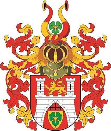 U24 Aufkleber Hannover Großes Wappen Autoaufkleber Sticker Konturschnitt Auto