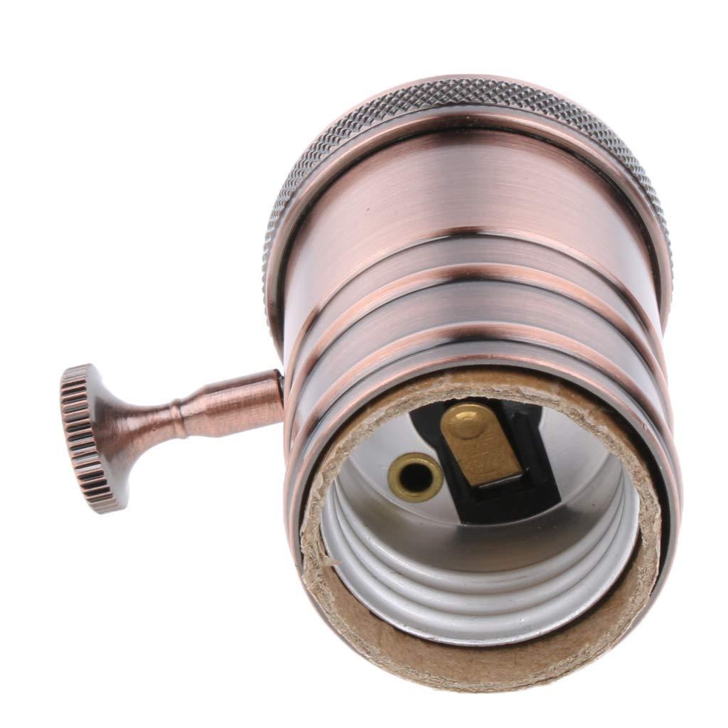 ROHSCE - Lámpara de techo industrial vintage con soporte ...