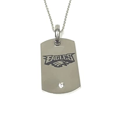 low priced 00685 d4e9c Amazon.com: Offical Licensed Philadelphia Eagles Titanium ...