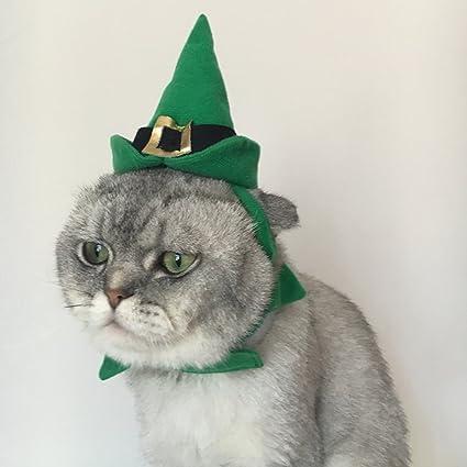 Zantec Lindo Sombrero para Mascotas, Gato Sombrero de Vacaciones o fiestas, Sombrero de Copa