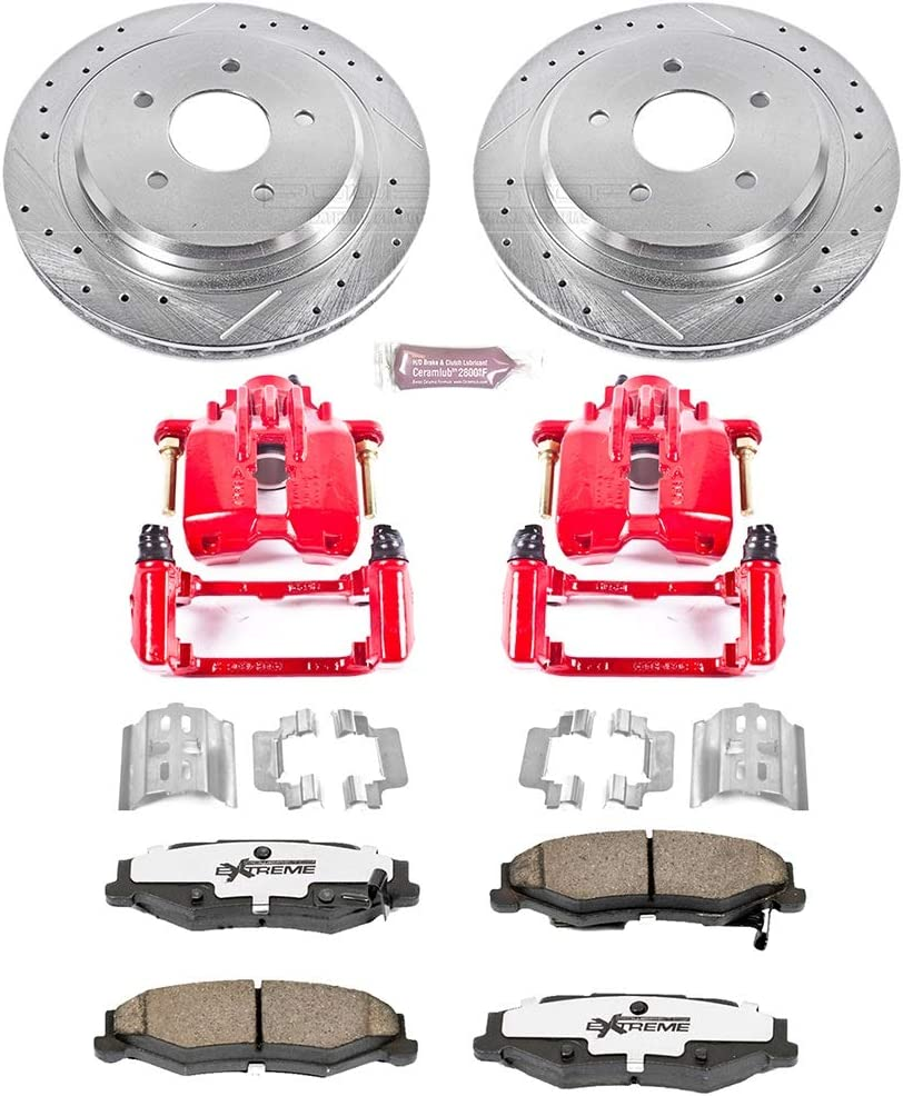 Power Stop KC1563-26 Rear Z26 Street Warrior Brake Kit Cadillac Chevrolet 813MoWe-ENLSL1500_