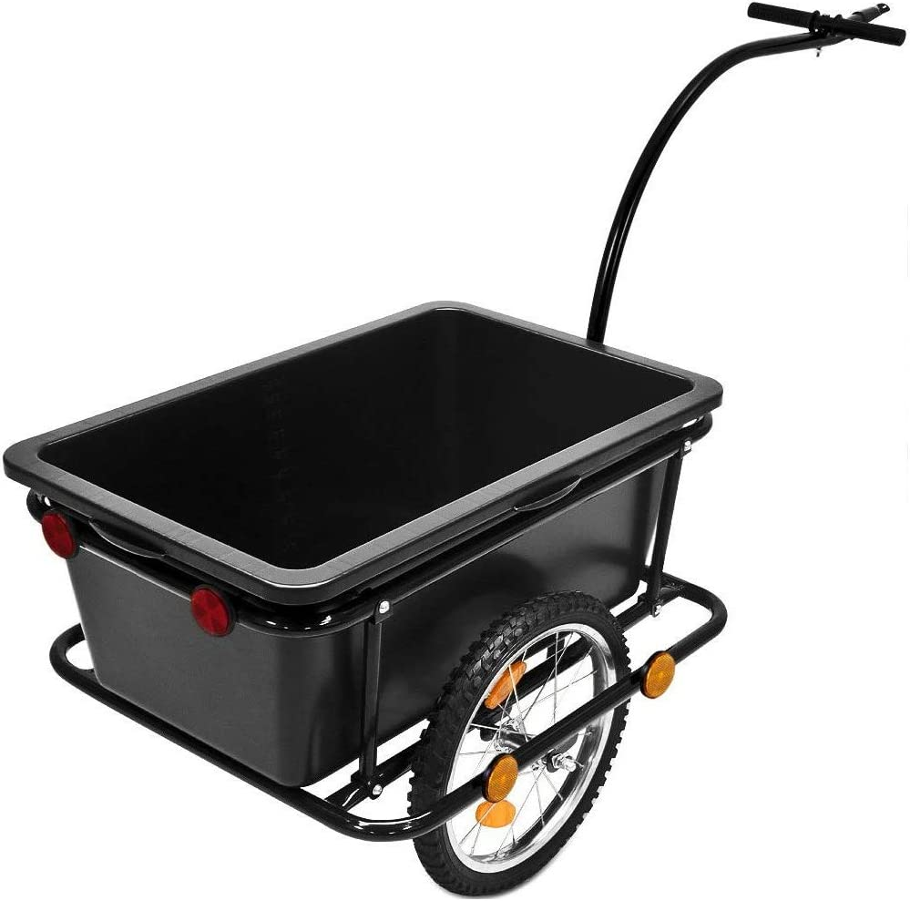 GEORGES - Remolque para Bicicleta (150 kg, 90 L): Amazon.es ...