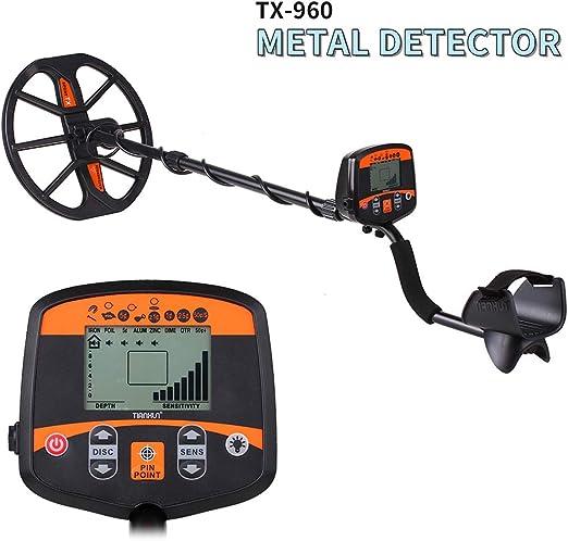 MOIMK Detector de Metales de Alta sensibilidad para Adultos ...
