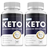 Purefit Keto Advanced Ketosis Formula Pills for Weight Management (2 Pack)