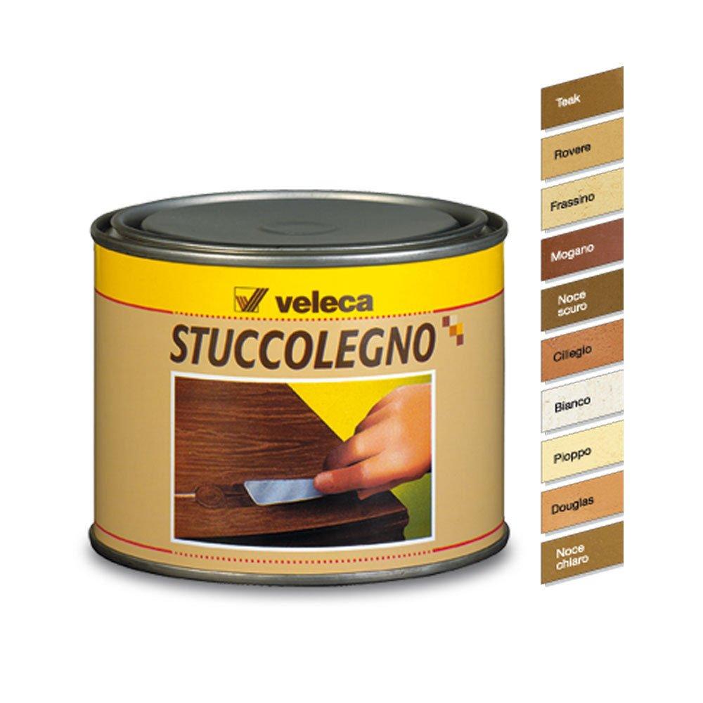 Veleca Stuccolegno, Stucco in Pasta per Legno, Noce Chiaro: Amazon ...