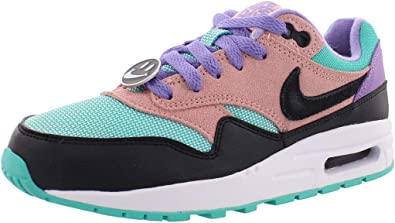 Varios ornamento rehén  Amazon.com | Nike Air Max 1 NK Day GS [AT8131-001] Kids Casual Shoes  Black/Anthracite/US | Fashion Sneakers
