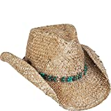 Sun 'N' Sand Beach Western Hat (One Size - Tan)