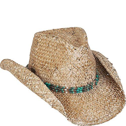Sun 'N' Sand Beach Western Hat (One Size - Tan)
