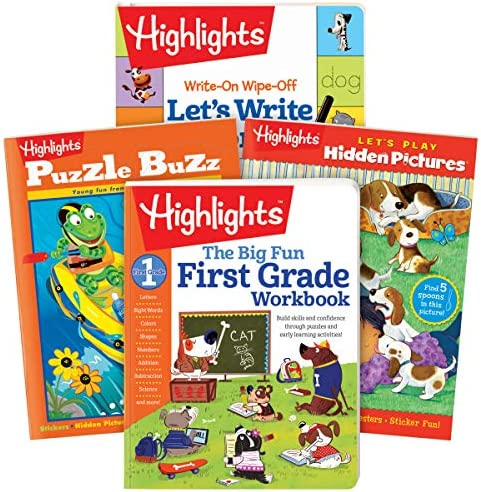 [해외]Highlights First Grade 액티비티 팩 / Highlights First Grade 액티비티 팩