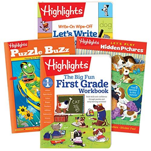 - Highlights First Grade Activity Pack