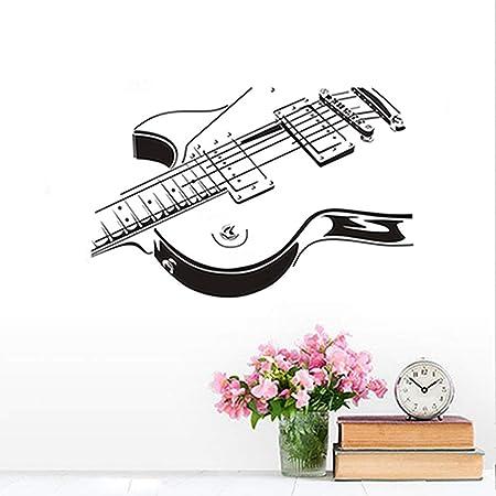 Guitarra Eléctrica Etiqueta de La Pared 3D PVC Creativo Guitarra ...