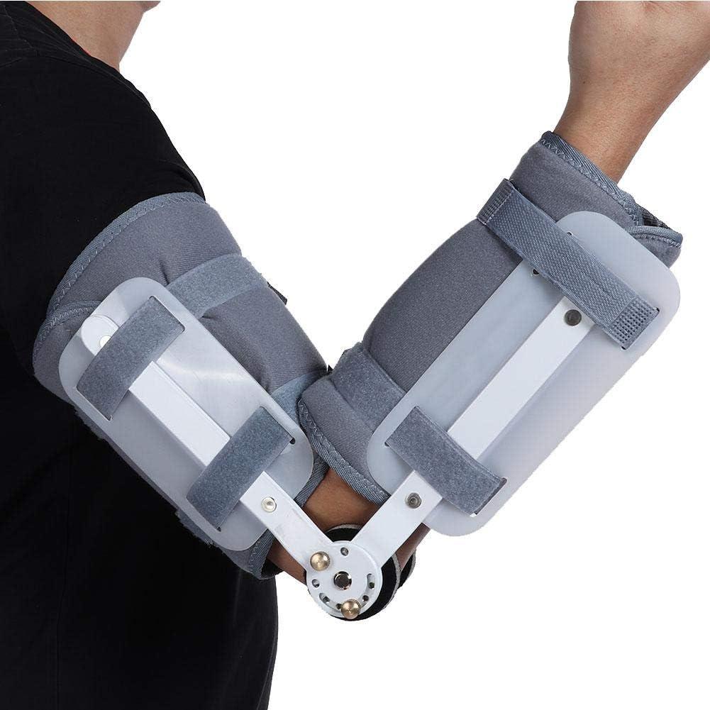 Rehabilitación de miembro superior Soporte de férula Restricción de brazo Protector Protector Abrazadera Antebrazo Fijación de fractura Articulación del codo Corrector de órtesis(L)