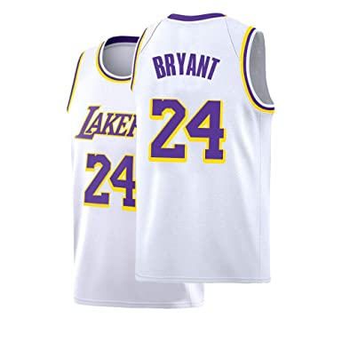 reputable site a1a08 f8af0 Amazon.com: Kids Bryant Jersey Los Angeles 24 Basketball ...