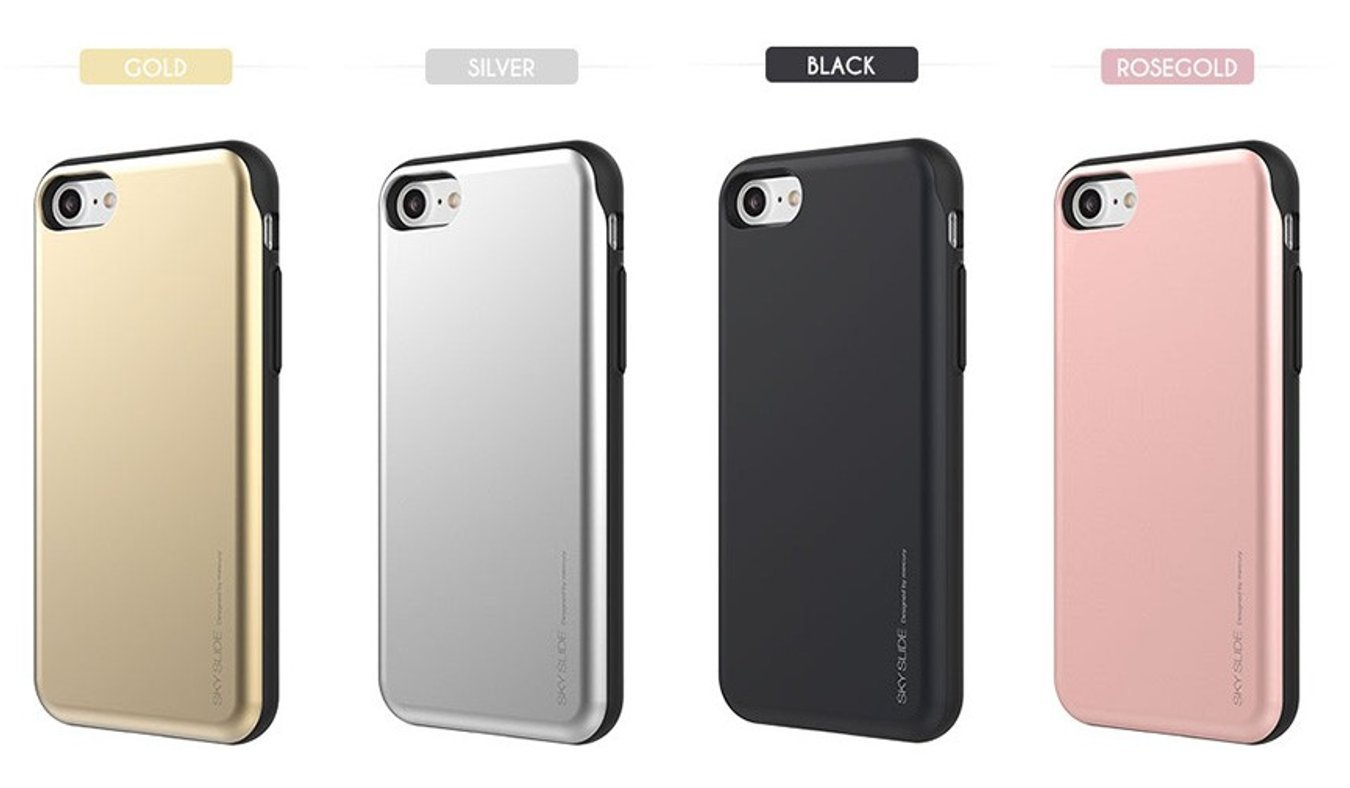 Amazon Iphone7 Plus Sky Slide Goospery Iphone 7 Bumper Case Rosegold Ic