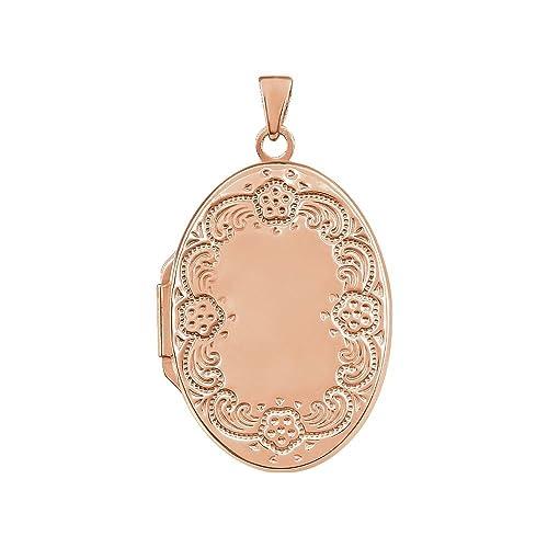 Amazon.com: JewelryWeb - Llavero ovalado de plata de ley ...
