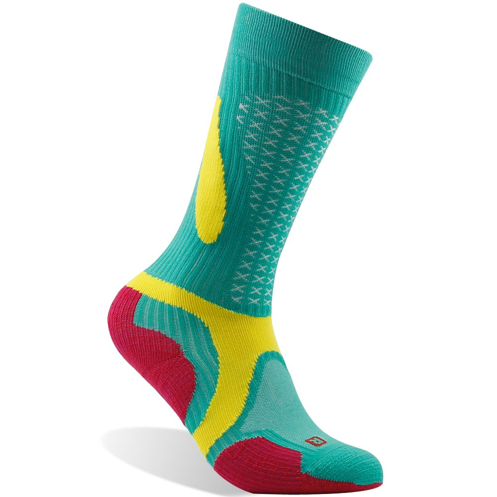 ZEALWOOD SOCKSHOSIERY レディース B071JN9MG3 S|1pair-green Red 1pair-green Red S