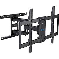 Rentliv TV Mount Full Motion with Articulating Arms for 37-70 inch Flat Curved Screen LED 4K TVs, Tilt Swivel Rotation…