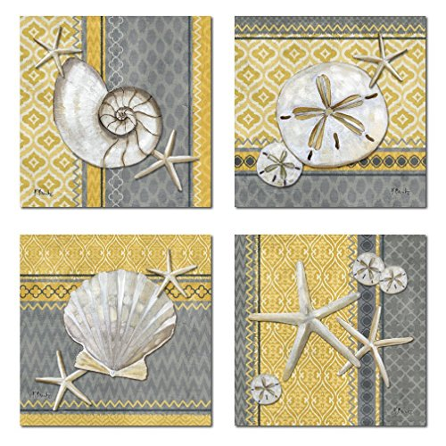 Wall decor with shells or ocean for Home decorations amazon
