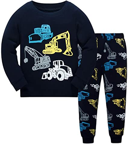 Pijamas para niños Conjuntos de ropa para niños Niños Pijamas de ...