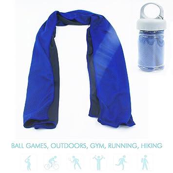 Toalla de Enfriamiento Instantáneo Microfibra Toalla fría Toalla Toallas de Gimnasio Todos los Deportes Secado Rápido ...