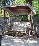 Abba Patio Outdoor Swing Canopy Hammock 2 Seat