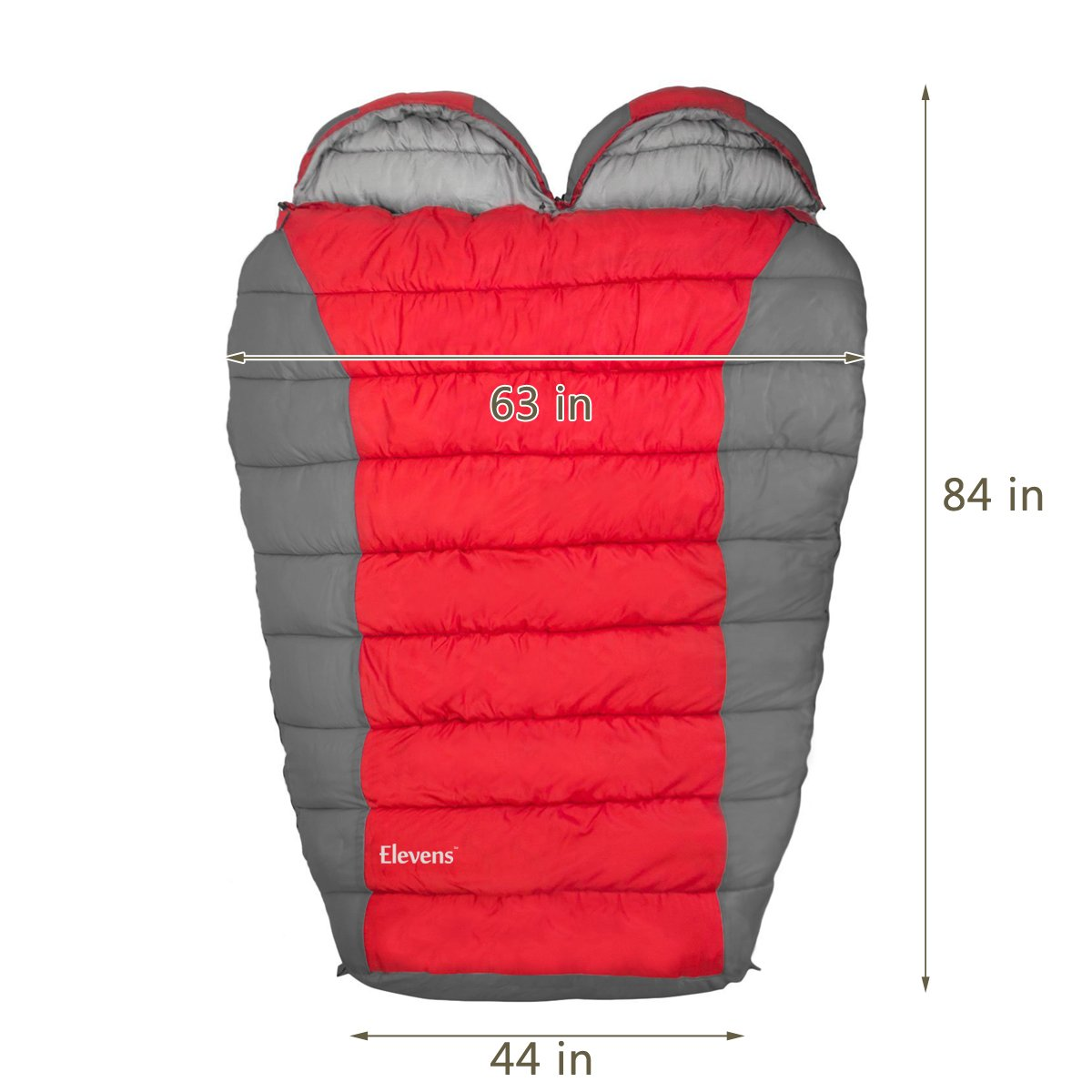 Sleeping Bag with Compression Sack, 0F Lightweight Mummy Bags for Adult Camping, Backpacking, Hiking, Traveling and Outdoor Activities