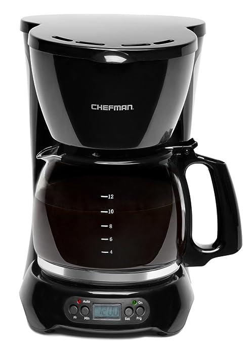 Amazon.com: Chefman 12 taza cafetera eléctrica programable ...