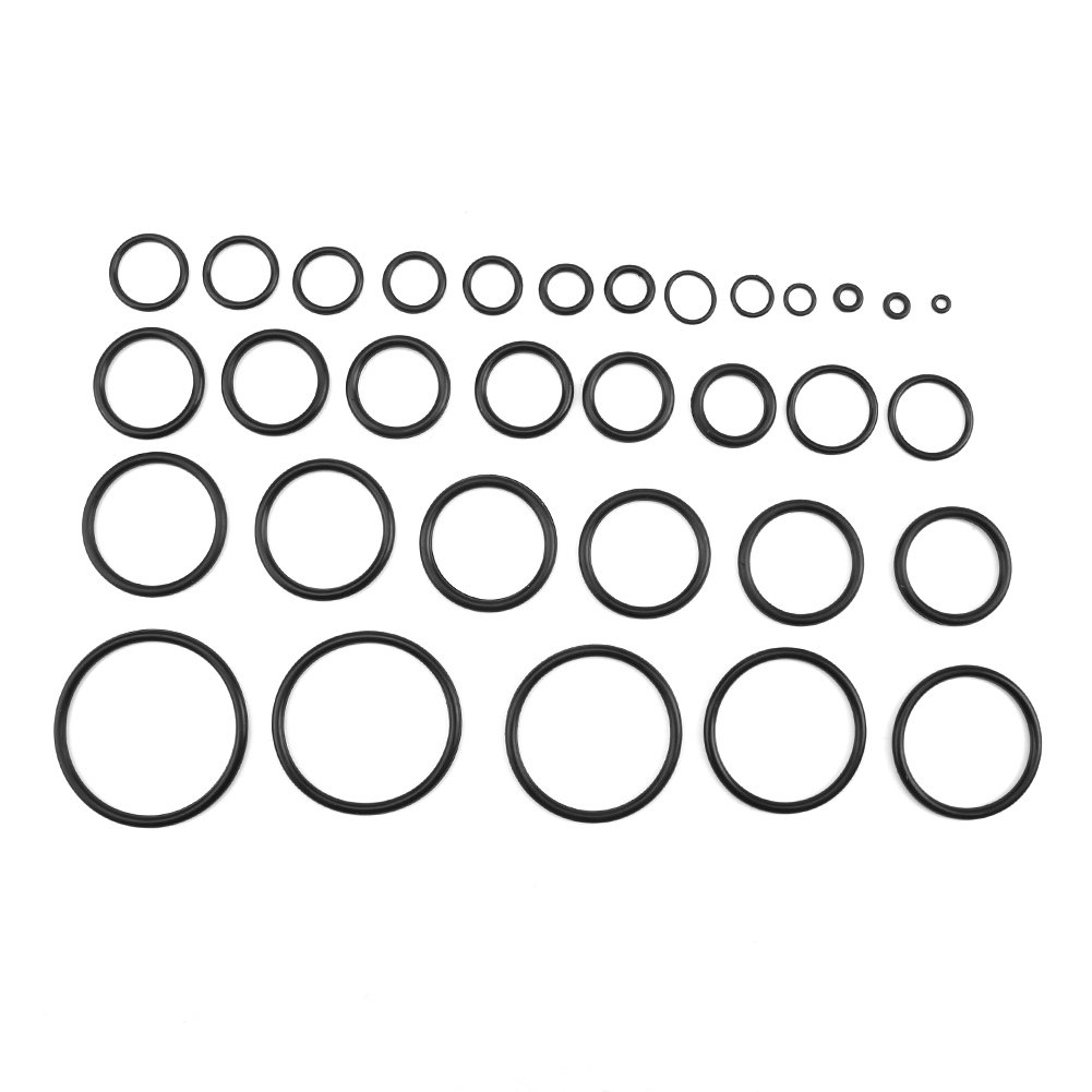 Pumps O-ring Seal Gasket Cars 419PCS durable Assortment Set Seal Gasket Universal Rubber O Ring Kit for Valves Bearings Electrical Equipment