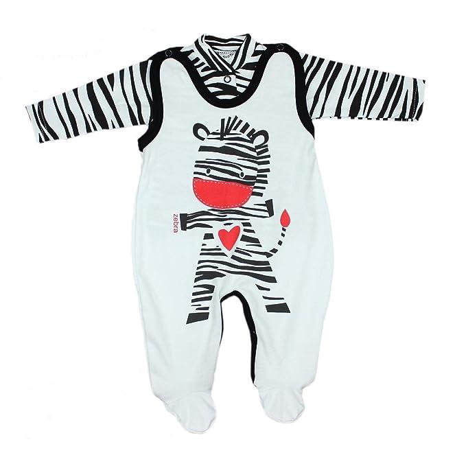 TupTam Estampado Pelele y Traje para Bebé, Set de 2 Piezas: Amazon.es: Ropa y accesorios