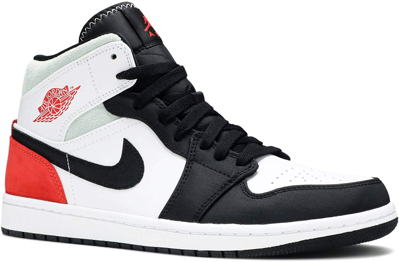Nike Air Jordan 1 Mid 'Black Toe Union