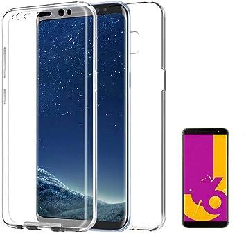 PLANETMOVIL [[ Compatible con Samsung Galaxy J6 Plus + (2018) 6 ...