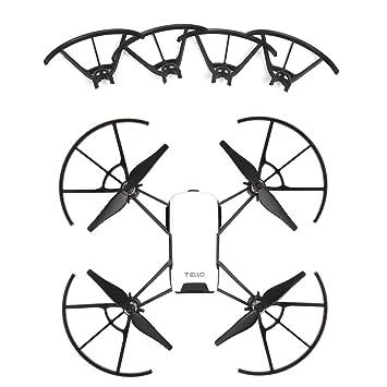 PENIVO 4 piezas/Set Protector mini drone hélice Parte,Propeller ...