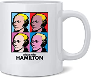 Poster Foundry Alexander Hamilton Pop Art Ceramic Coffee Mug Tea Cup Fun Novelty Gift 12 oz