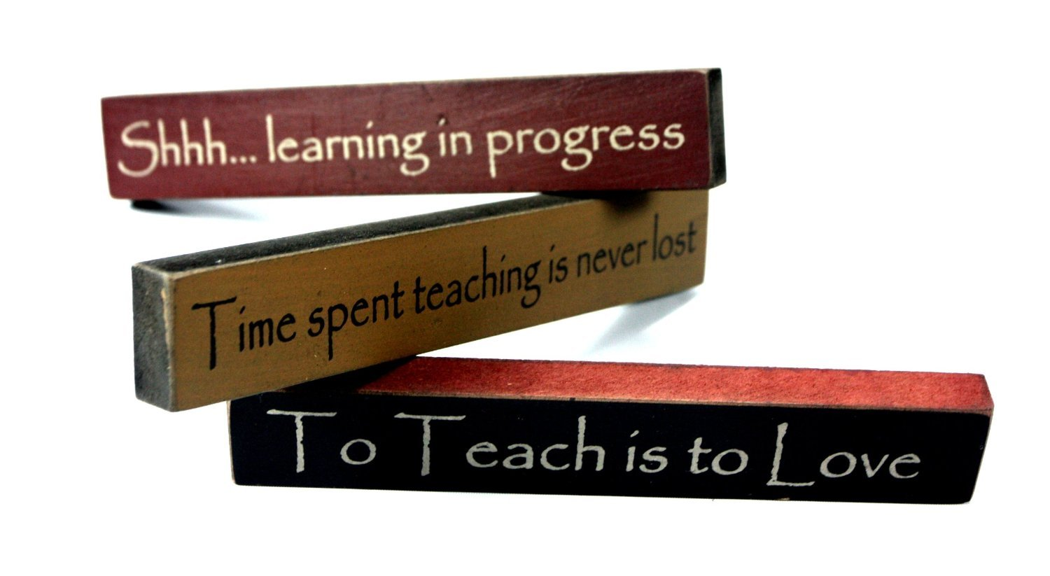 Teacher Appreciation Mini Desk Signs Set of 3