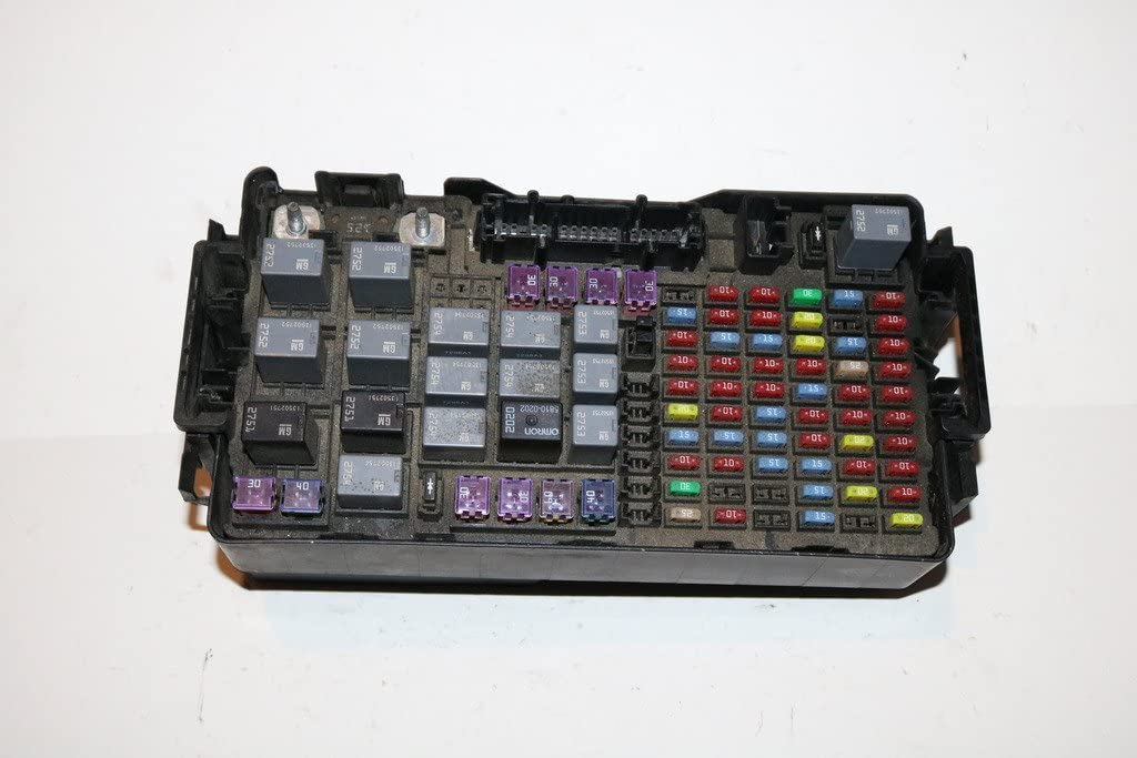 Fuse Box For Hummer H3