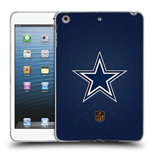 Official NFL Football Dallas Cowboys Logo Soft Gel Case for Apple iPad mini 1 / 2 / 3 (Cowboys Dallas Football Display Case)