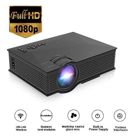 Dayangiii Mini proyector de Bolsillo del proyector del LED ...