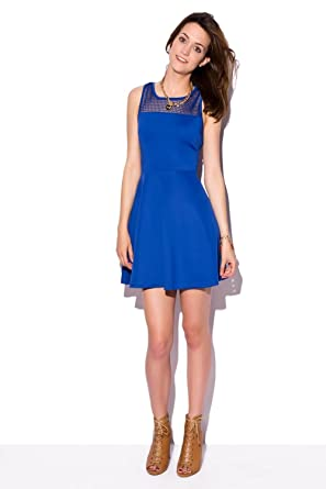 Accesorios vestido azul electrico