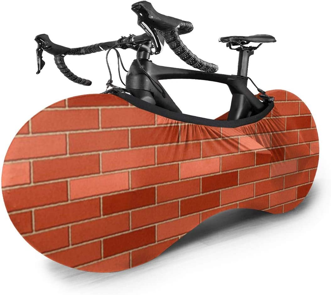 Cover Bicycle Saddle Red Square Fabric