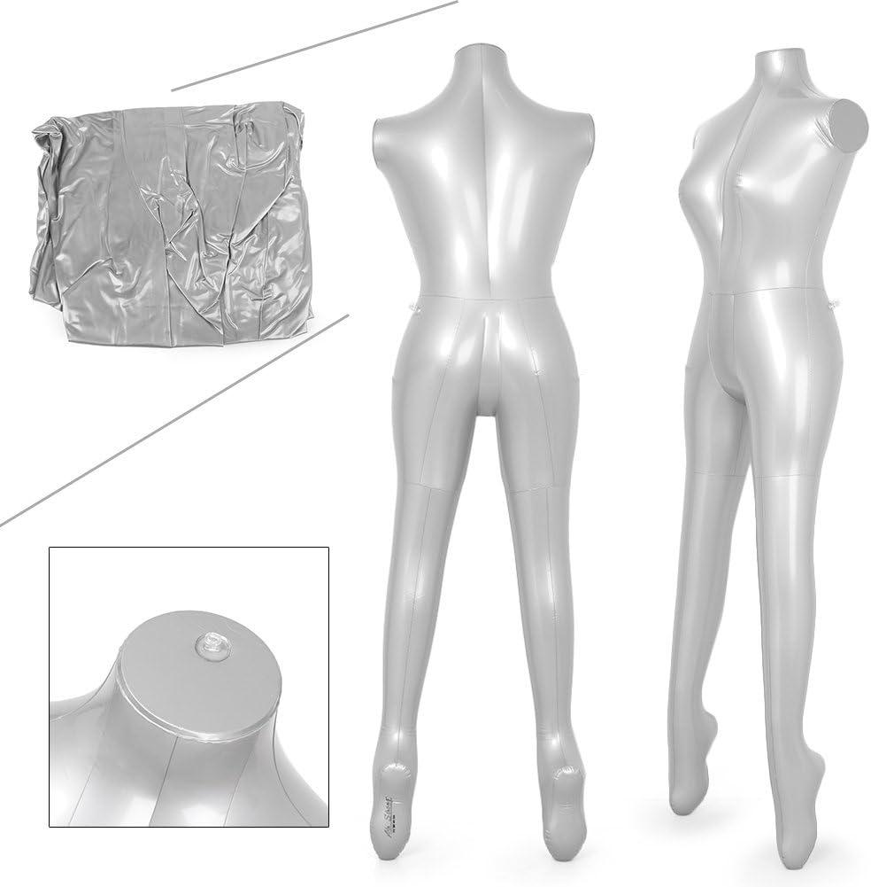 Amazon.com: newsmarts hinchable hembra maniquí vestido de ...