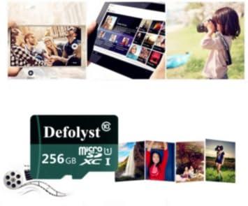 Defolyst SH79-JP - Tarjeta Micro SD de 256 GB (Clase 10 ...