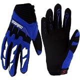 Gtopart 50g Kids Full Long Finger Cycling Gloves,Skateboard Gloves, Roller Skating Gloves